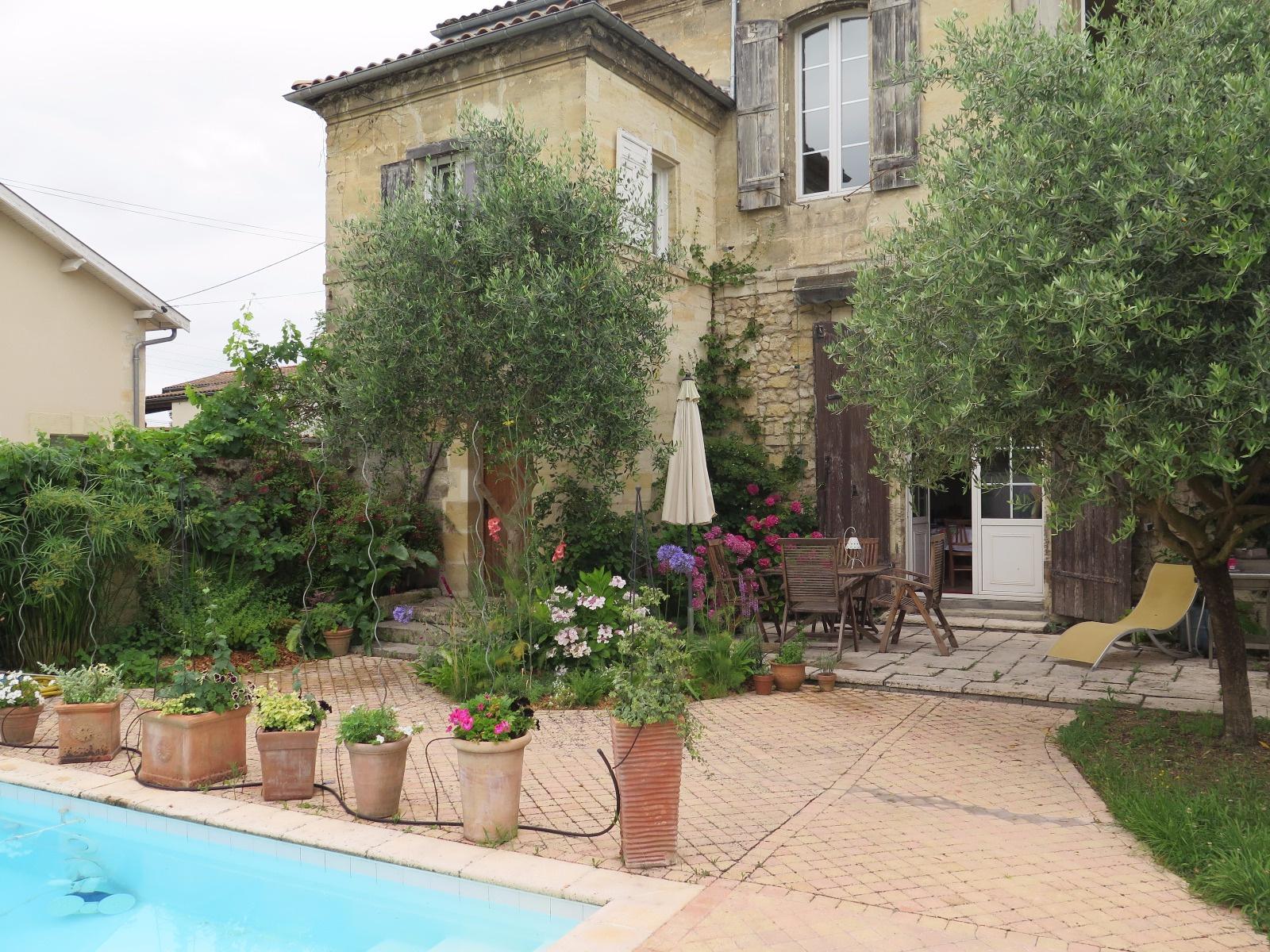 Vente maison en pierre 3 chambres jardin piscine begles - Jardin paysager prix bordeaux ...
